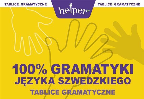 100% Gramatyki j.szwedzkiego Tablice w.2013 KRAM