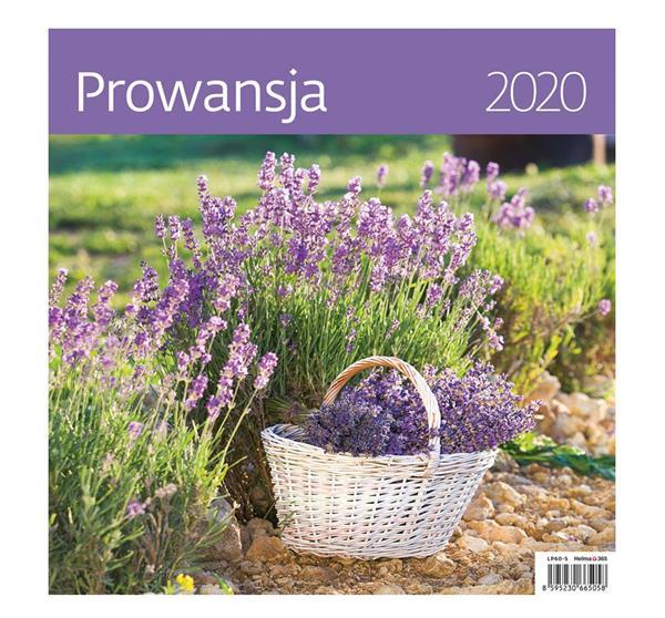 Kalendarz 2020 ścienny 30x30 mix bez naklejek