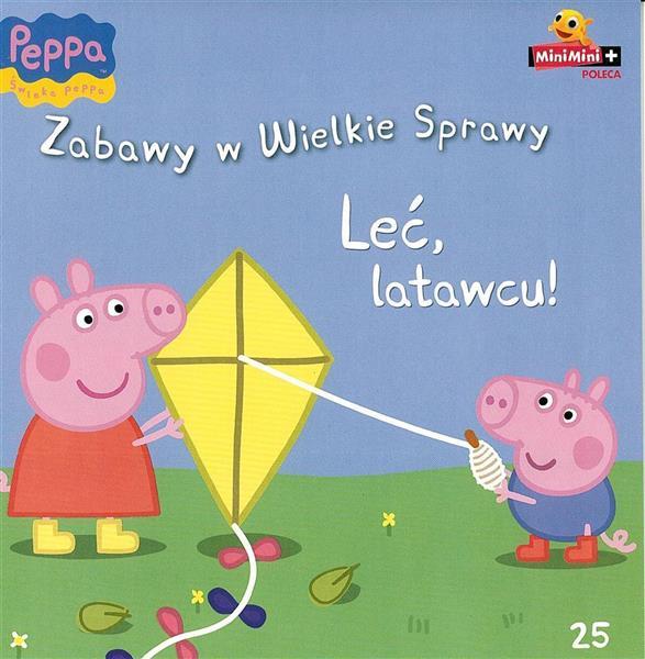 Peppa Pig - Zabawy w wielkie sprawy nr 25..OUTLET