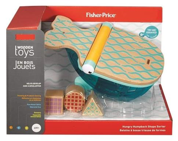 Fhiser Price - sorter wieloryb