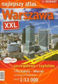 WARSZAWA XXL - NAJLEPSZY ATLAS  (A4, ZESZYT)