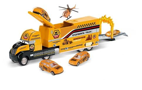 Ciężarówka roboty drogowe
