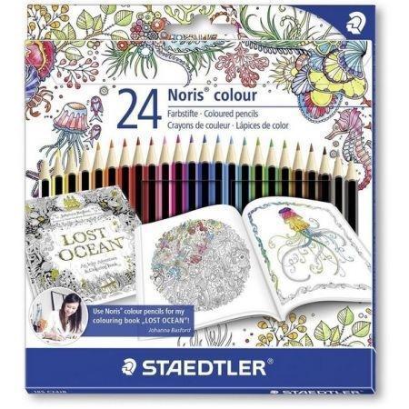 Kredki Noris Colour 24 kolory STAEDTLER