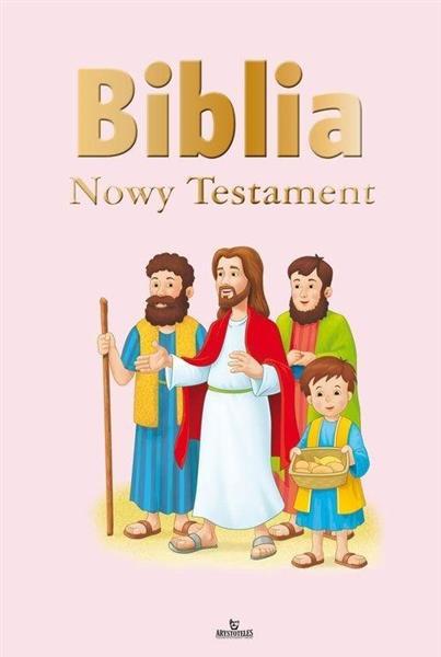 Biblia ilustrowana. Nowy Testament (różowa)