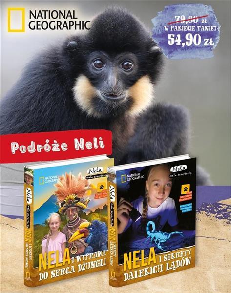 Pakiet 5: Nela i wyprawa do../Nela i sekrety..