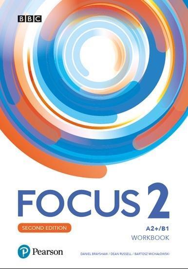 Focus 2 2ed. WB A2+/B1 + Online Practice PEARSON