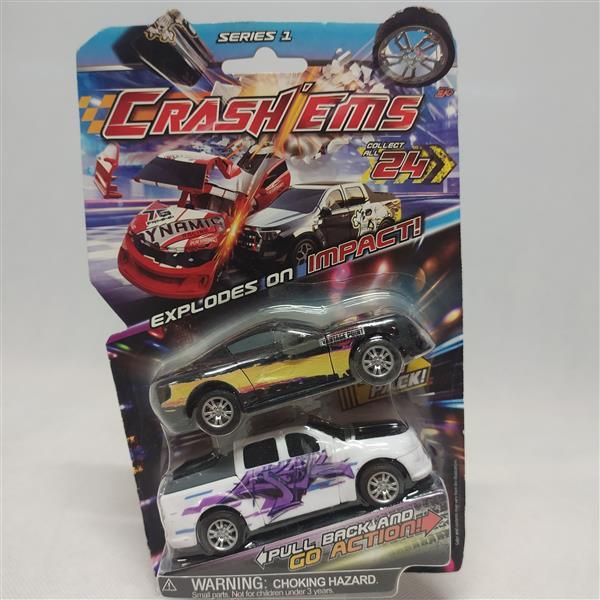 Samochodziki Crash'ems MIX