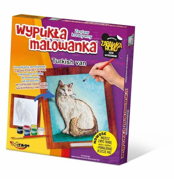 Wypukła Malowanka - Kot Turecki Van
