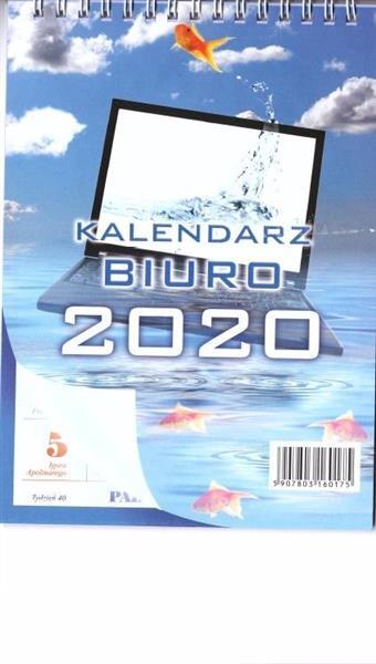 Kalendarz 2020 Biurkowy stojący BIUREX