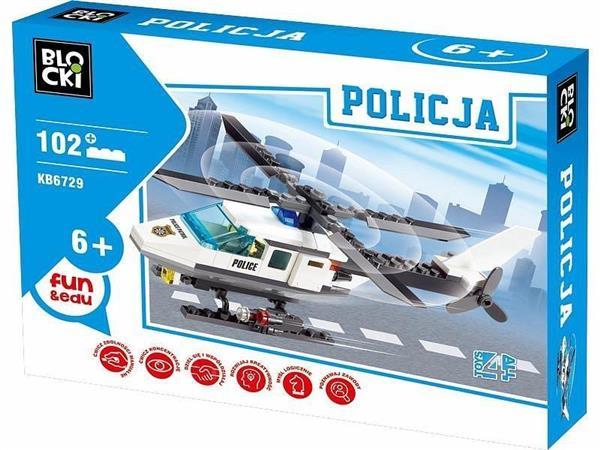Klocki Blocki Policja Helikopter