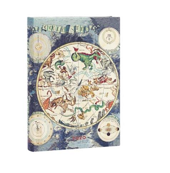 Kalendarz książkowy midi 2020 12M Celestial