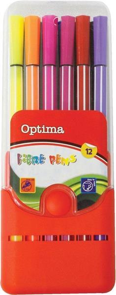 Pisak 12 kolorów OPTIMA