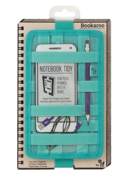 Bookaroo Notebook Tidy Organizer na notes turkus