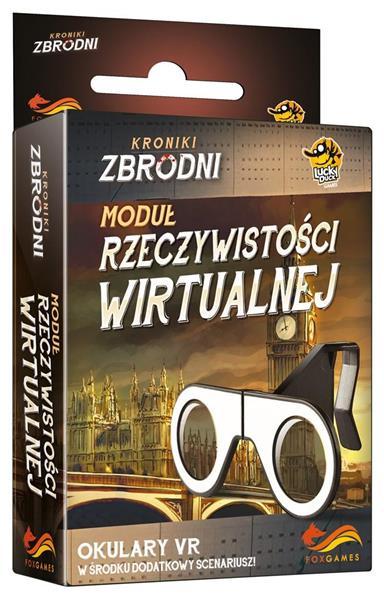Dodatek do gry - Kroniki Zbrodni. Okulary VR