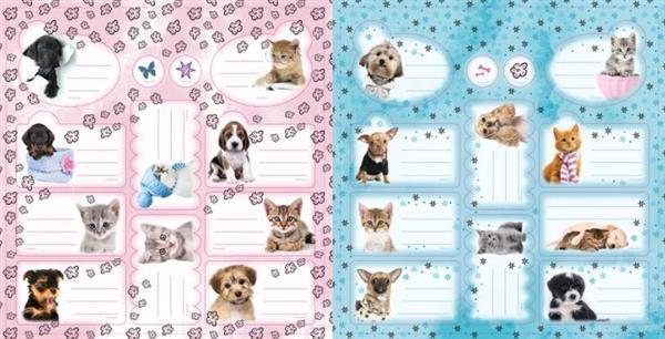 Naklejki na zeszyty The Sweet Pets Kids