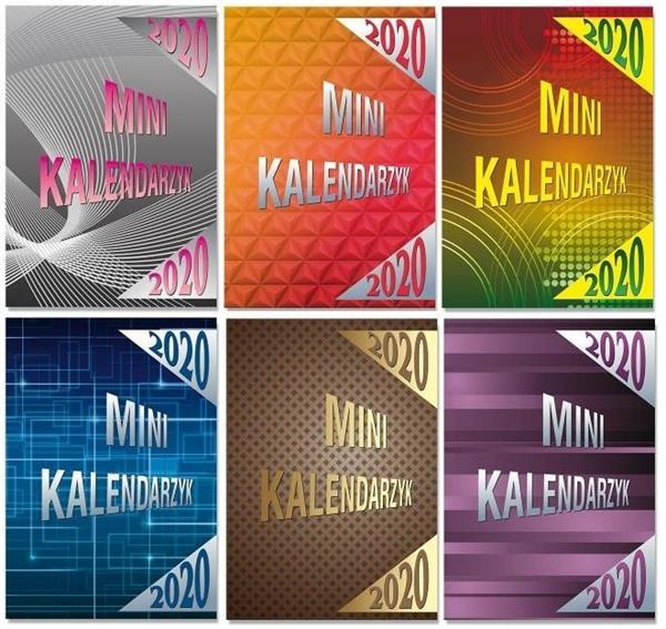 Kalendarz 2020 kiesz. MINI opr. karton. SK10 MIX