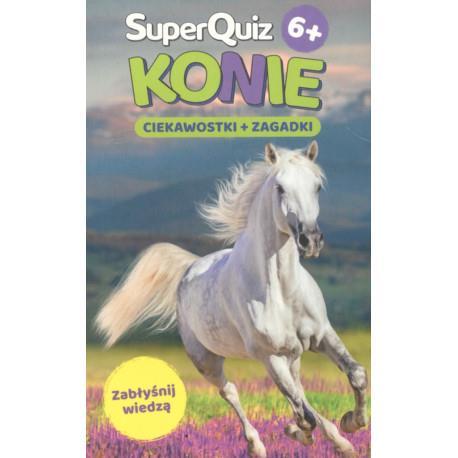 SuperQuiz Konie 6+ Outlet