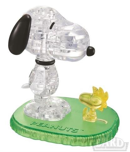 Crystal puzzle Snoopy i Woodstock