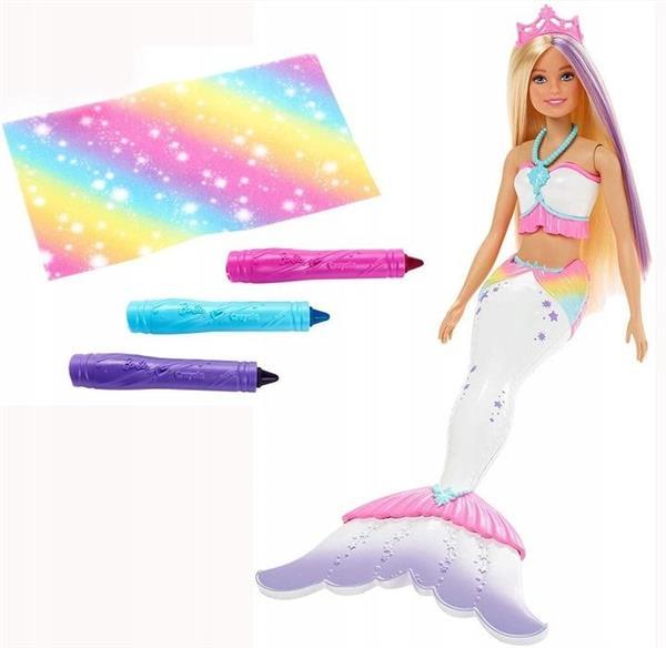 Barbie Dreamtopia. Syrenka kolorowa magia