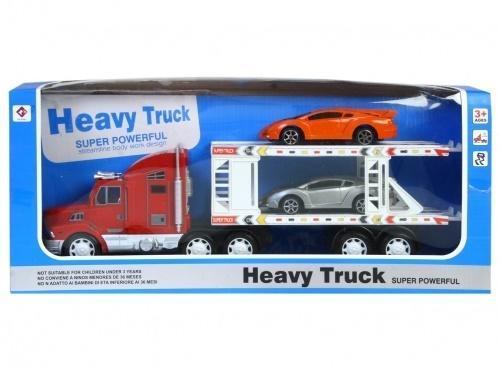 Auto ciężarowe z lawetą