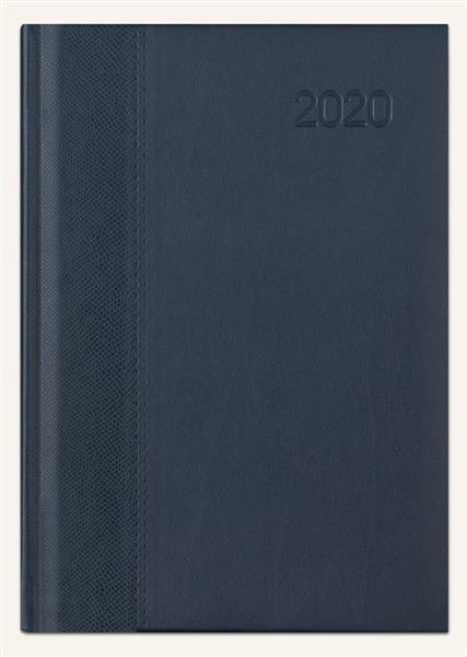 Kalendarz 2020 Książkowy B6 Lux gecco/granat