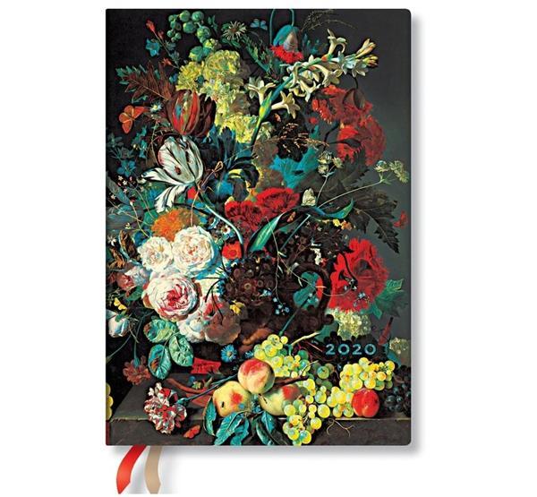 Kalendarz książkowy midi 2020 12M Van Huysum