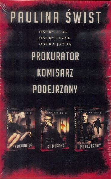 Pakiet: Prokurator/Komisarz/Podejrzany