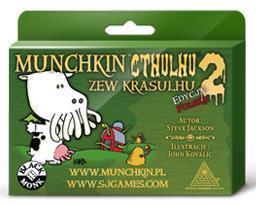 Munchkin Cthulhu 2 Zew Krasulhu BLACK MONK