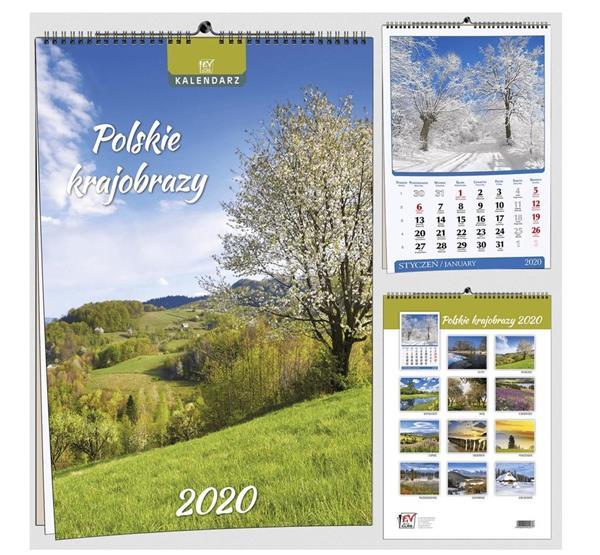 Kalendarz 2020 7 Plansz B3 - Pl krajobrazy EV-CORP