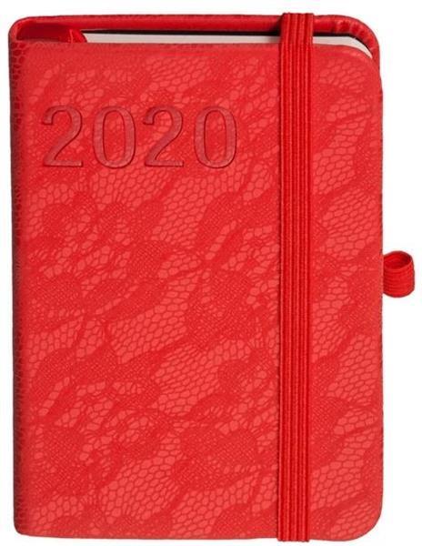 Kalendarz 2020 Awangarda A7 Czerwony TDW ANTRA