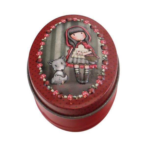 Blaszane. Pudełko - Little Red Riding Hood