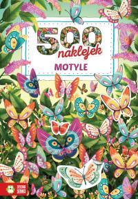 500 naklejek. Motyle 9788380738263