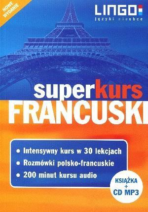 FRANCUSKI SUPERKURS KSIĄŻKA + CD BR OUTLET
