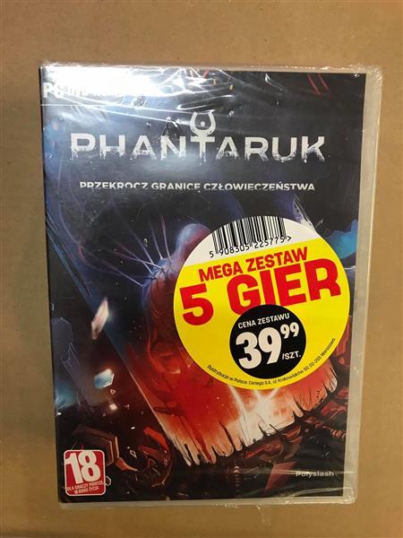 MEGA ZESTAW 5 GIER (PC)