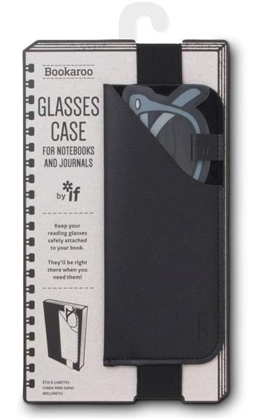 Bookaroo Glasses case Uchwyt na okulary czarny