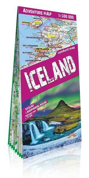 Adventure map Isalndia 1: 500 000