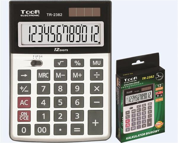 Kalkulator biurowy 12-pozycyjny TR-2382 TOOR