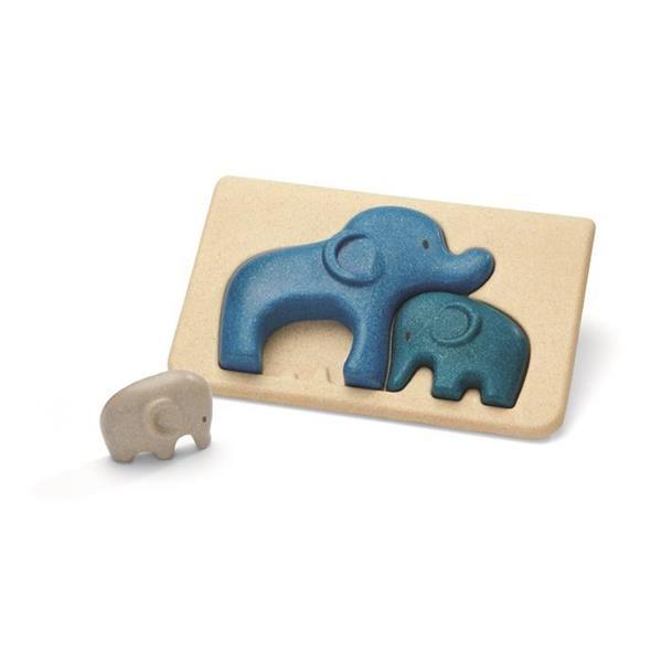 Puzzle drewniane Słonie