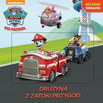 Psi Patrol książka z kartką 3D outlet-8424