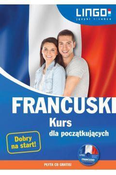 Francuski. Kurs dla początkujących. Książka CD-23199