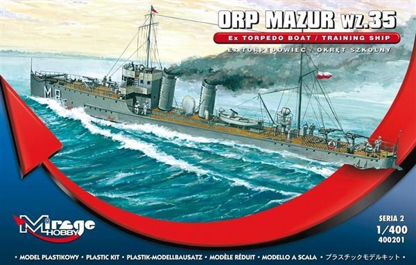 Okręt Szkolny ORP Mazur wz. 35 Polski-304429