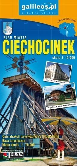 Plan miasta - Ciechocinek 1:9 000-320163