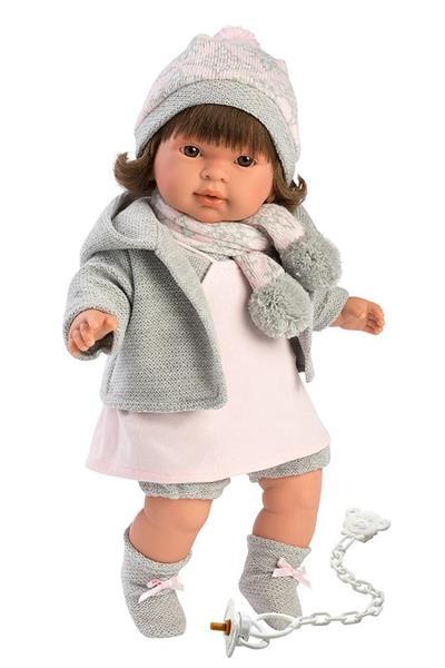Lalka 42150 Pippa płacząca brunetka 42cm