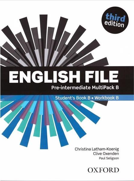 English File 3E Pre-Intermediate SB MultiPack B