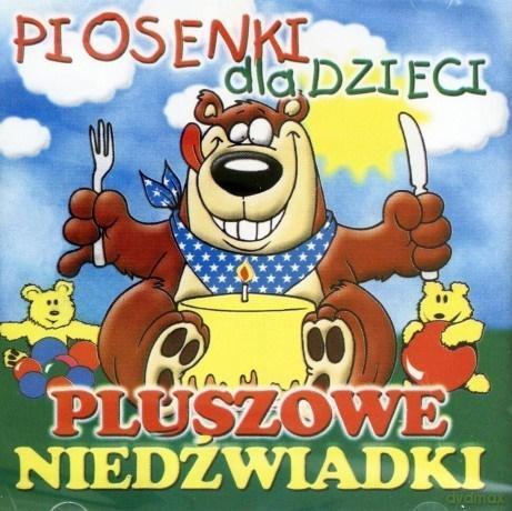 Piosenki dla dzieci - Pluszowe niedźwiadki (CD)