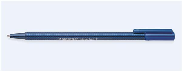Długopis triplus ball 437F niebieski (10szt)