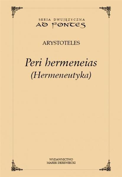 Peri hermeneias (Hermeneutyka)