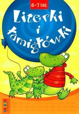 Literki i łamigłówki 6-7 lat LITERKA