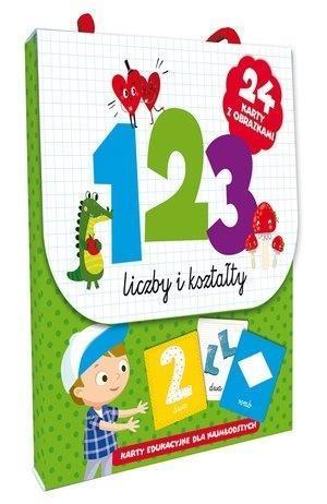 123 Liczby i kształty. Karty edu. dla najmłodszych