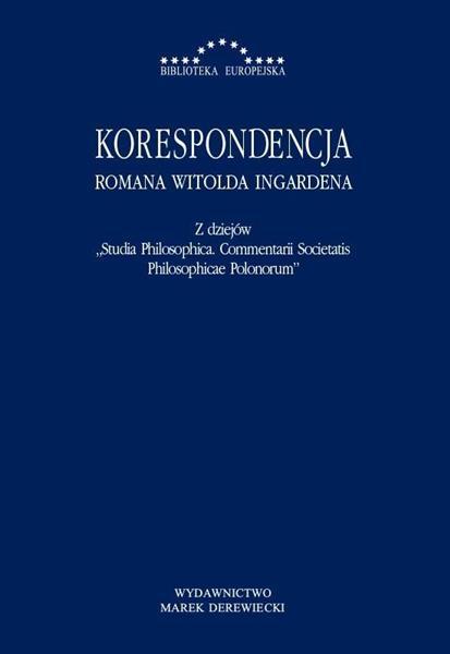 Korespondencja Romana Witolda Ingardena